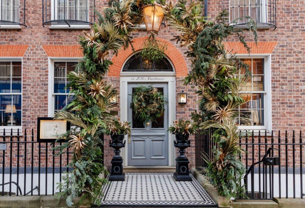 Entrance Door To The Zetter Townhouse Marylebone