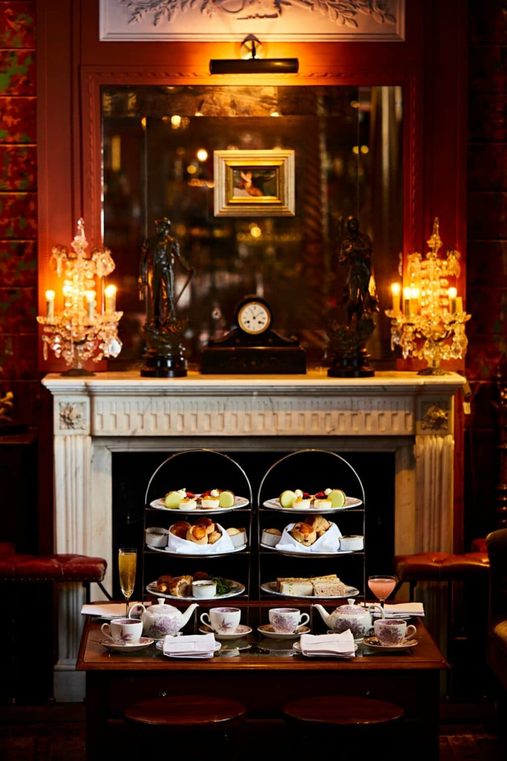 The Fireplace And Afternoon Tea At The Zetter Townhouse Clerkenwell