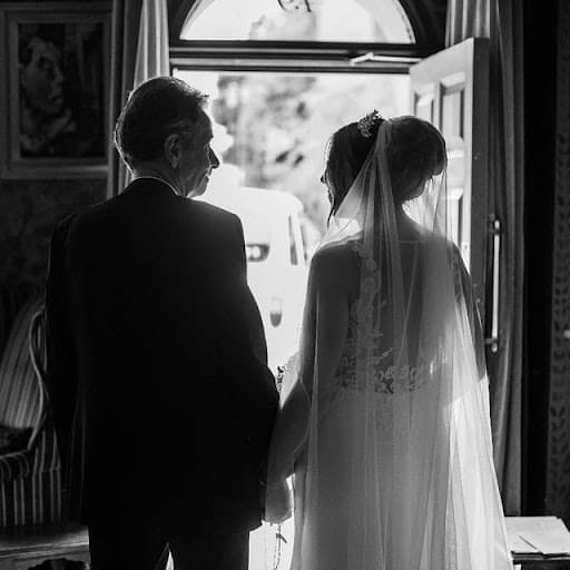 Father And Bride At The Zetter Townhouse Marylebone