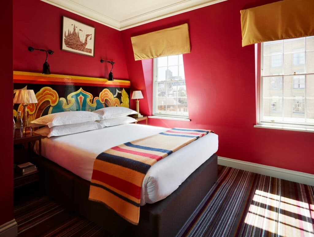 The Zetter Hotel Room With Double Bed