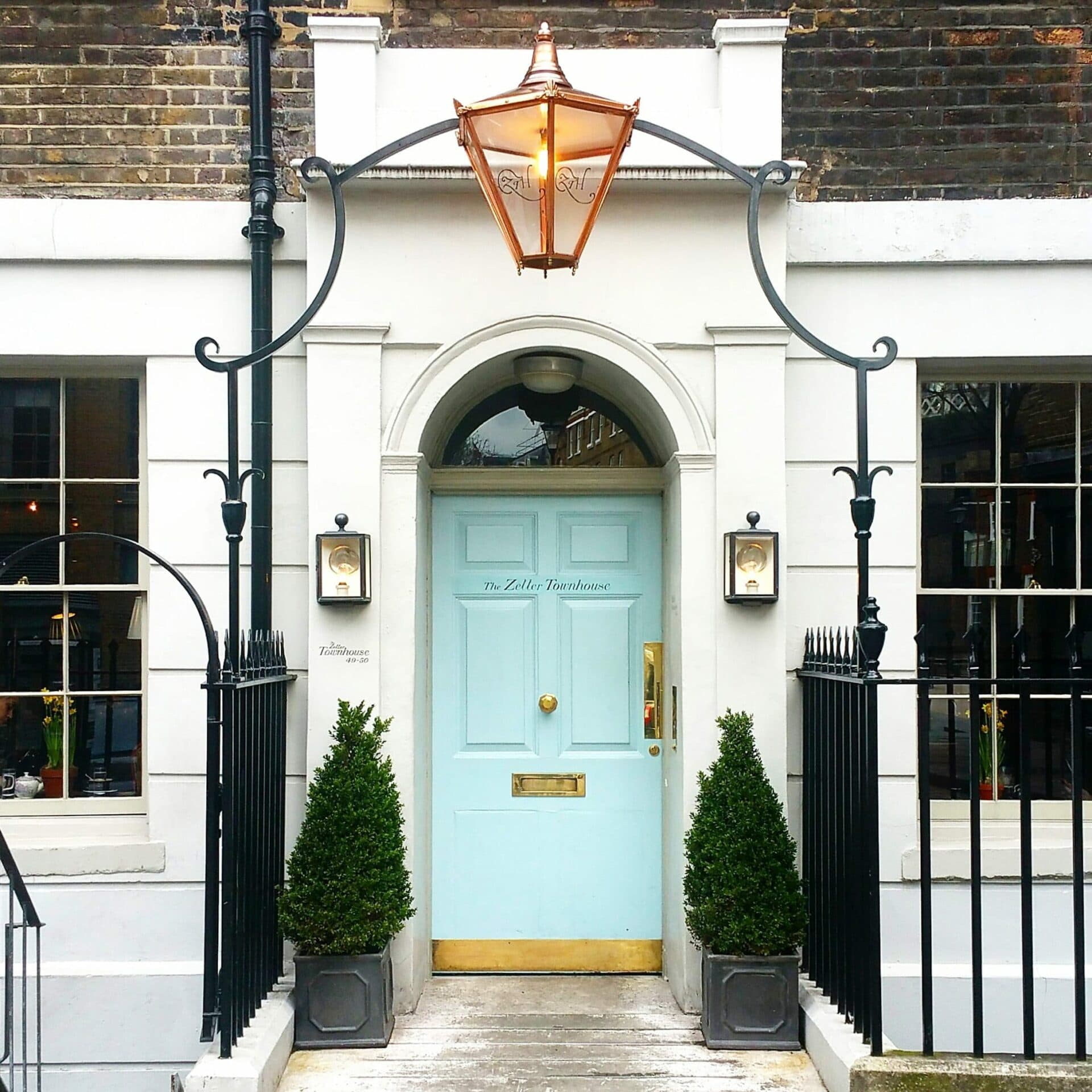The Zetter Townhouse Clerkenwell Entrance