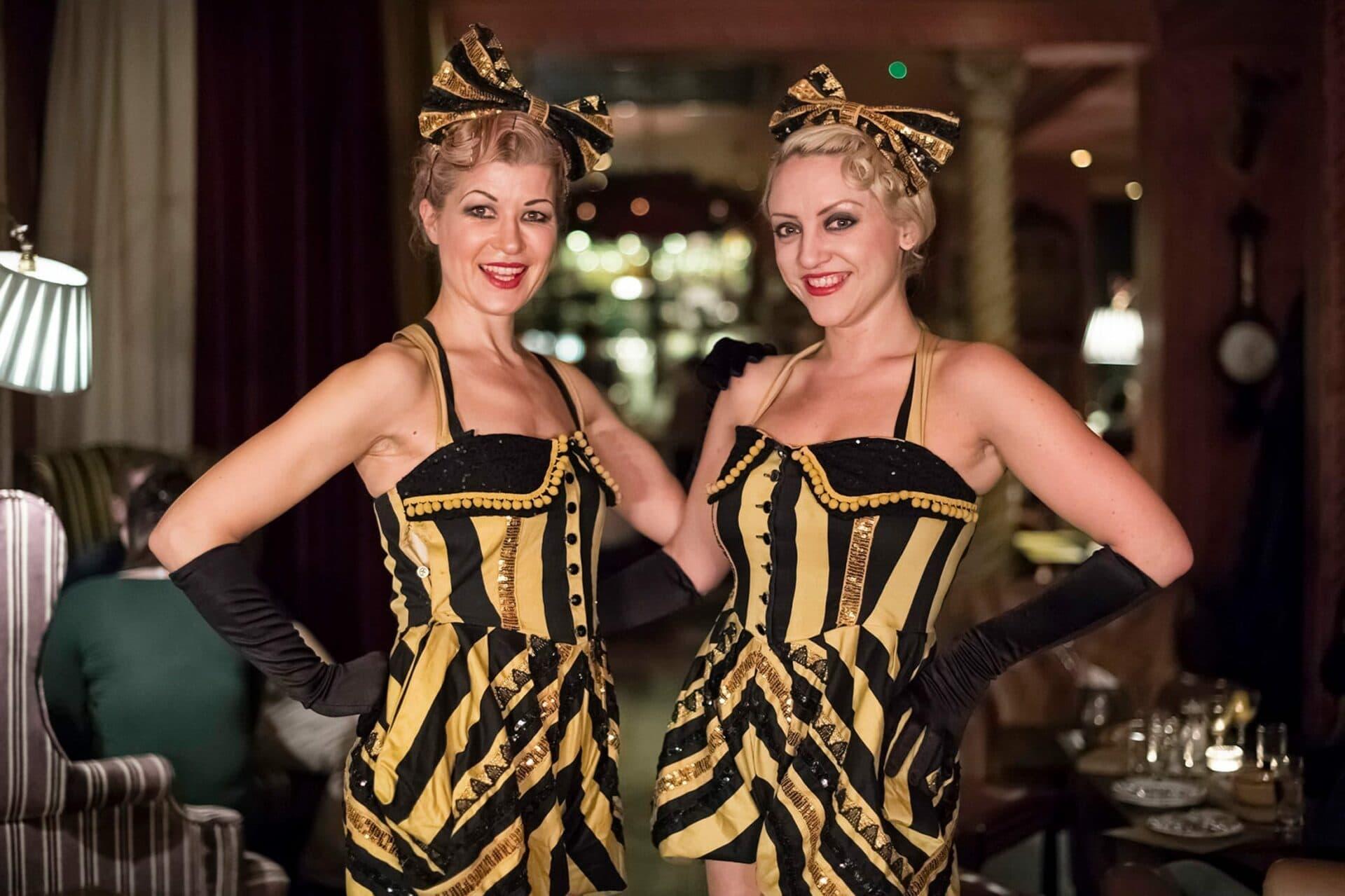 The Zetter Hotel Two Flapper Girls